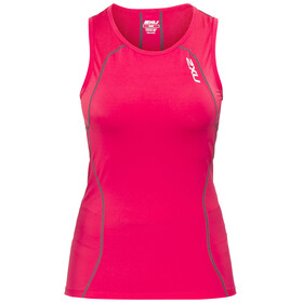2XU Active Tri Singlet Women cherry pink/ink